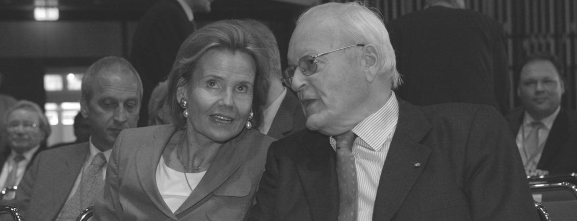 Roman Herzog mit Freifrau