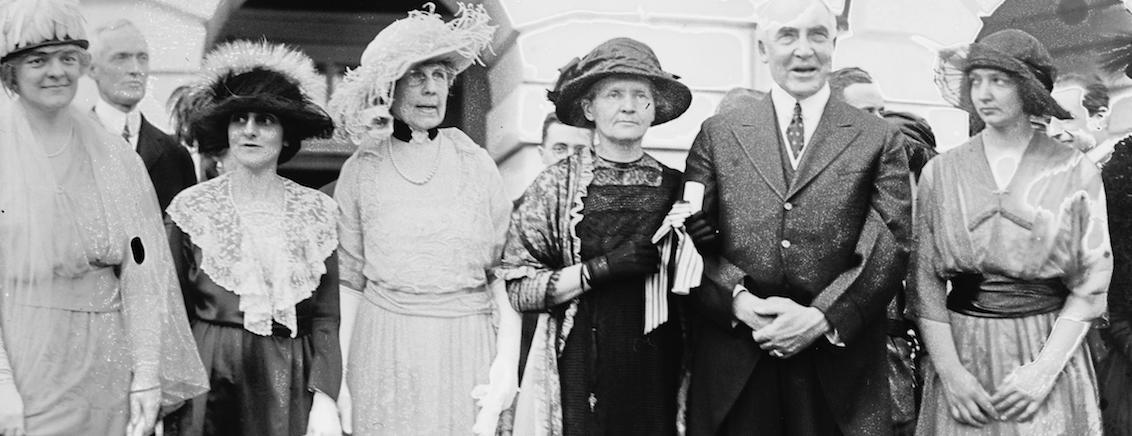 Marie Curie's American Adventure