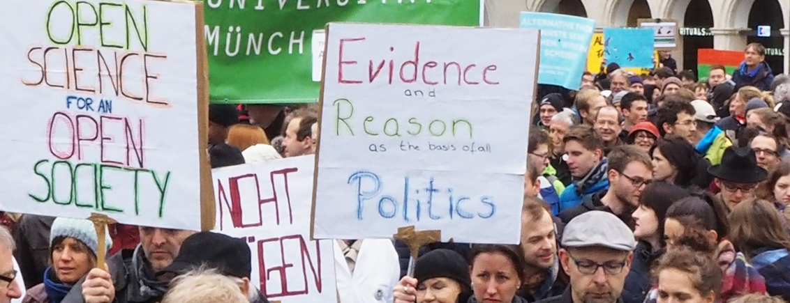 Nach dem March for Science: Wie geht es weiter?