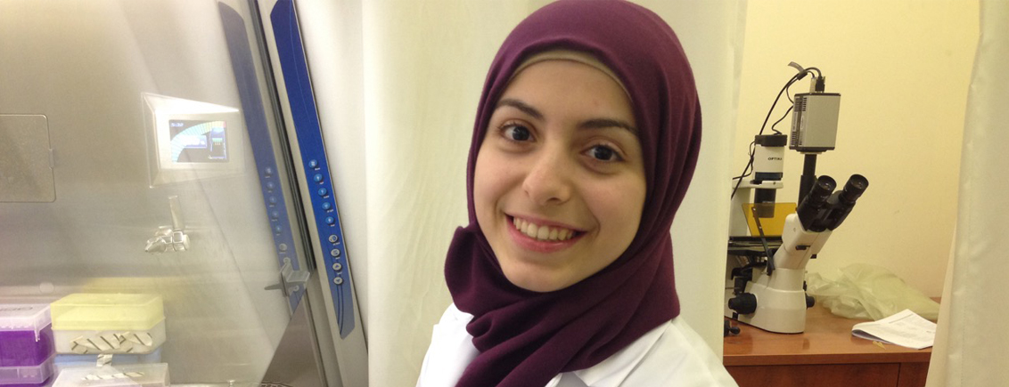 Chemistry Student Jana Kobeissi Wants to Be a Source of Positive Change