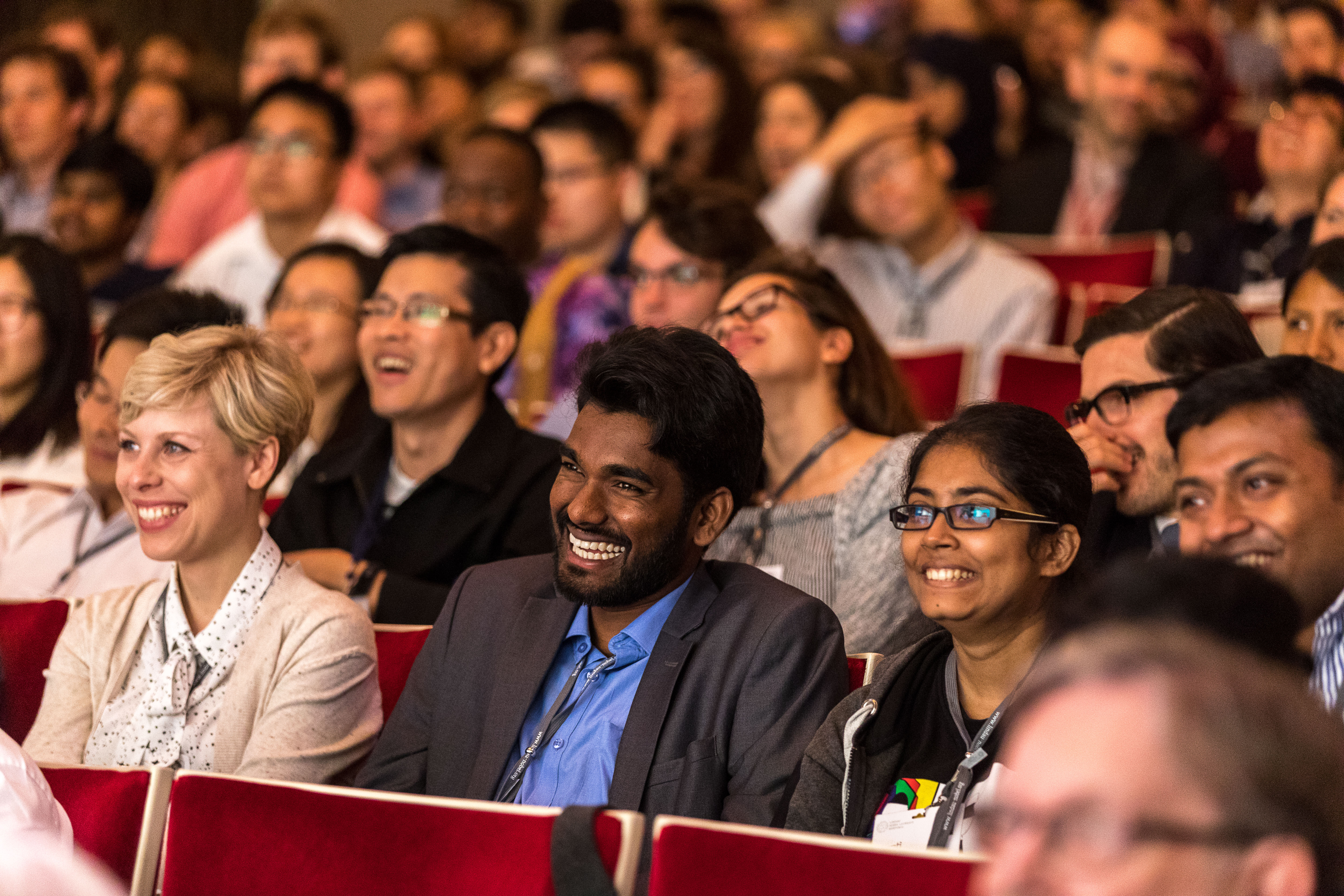 67th Lindau Nobel Laureate Meeting Chemistry, 25.06.2017 - 30.06.2017, Lindau, Germany, Picture/Credit: Christian Flemming/Lindau Nobel Laureate Meetings Audience in Peter Agre's lecture