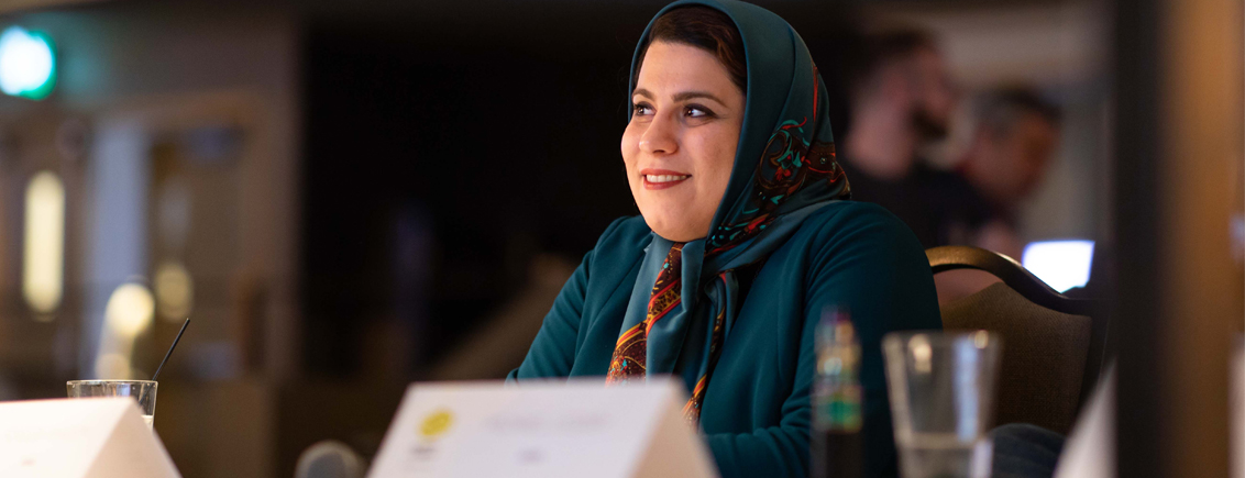 Women in Research at #LINO18: Forough Khadem from Iran