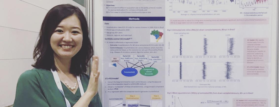 Women in Research at #LINO18: Kayoko Shioda from Japan