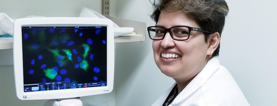 Women in Research at #LINO18: Rushita Bagchi from Canada