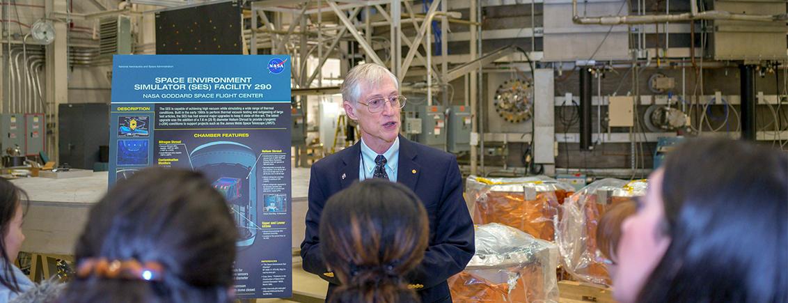 "Lindau Alumni Visit NASA: ""It's the People Who Make Things Happen."""