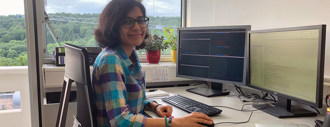 Women in Research at #LINO19: Salma Sohrabi-Jahromi from Iran