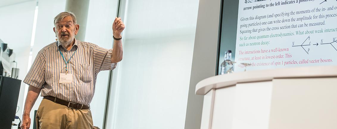 Agora Talk mit Martinus Veltman: Unendlichkeiten verstecken