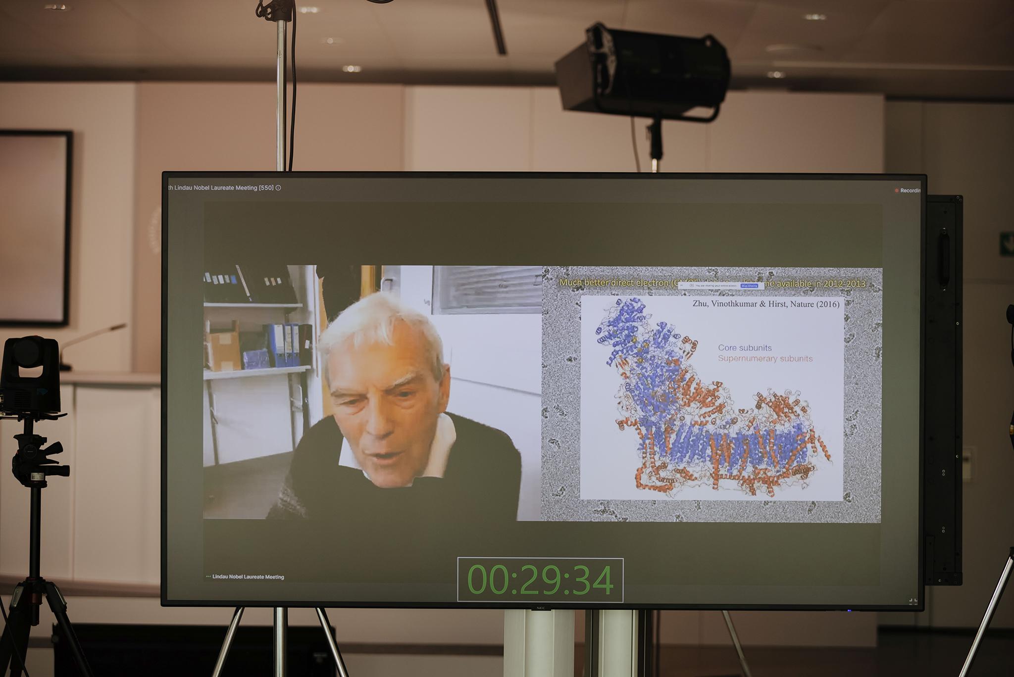 Richard Henderson about Electron Cryomicroscopy
